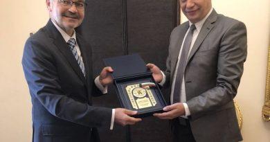 Областният управител Илиан Тодоров се срещна с посланика на Полша