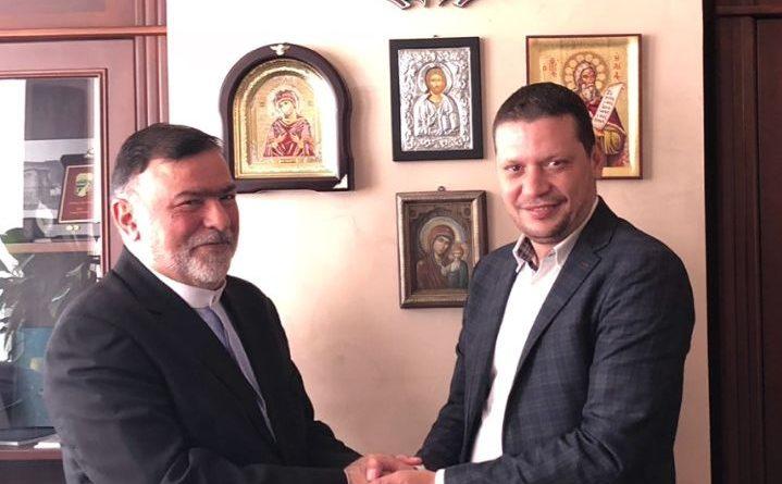 Областният управител Илиан Тодоров се срещна с новоназначения посланик на Иран Н.Пр. Сейед Мохаммад Джавад Расули