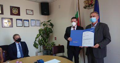 """Илиан Тодоров получи сертификат """"Антикорупция"""", Софийска област първата в Европа въвела системата за борба с подкупването"""