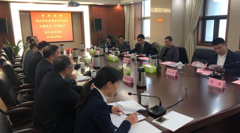 Областният управител Илиан Тодоров се срещна с Ванг Джунгхия – заместник-генерален директор на департамента по образование на провинция Дзянси