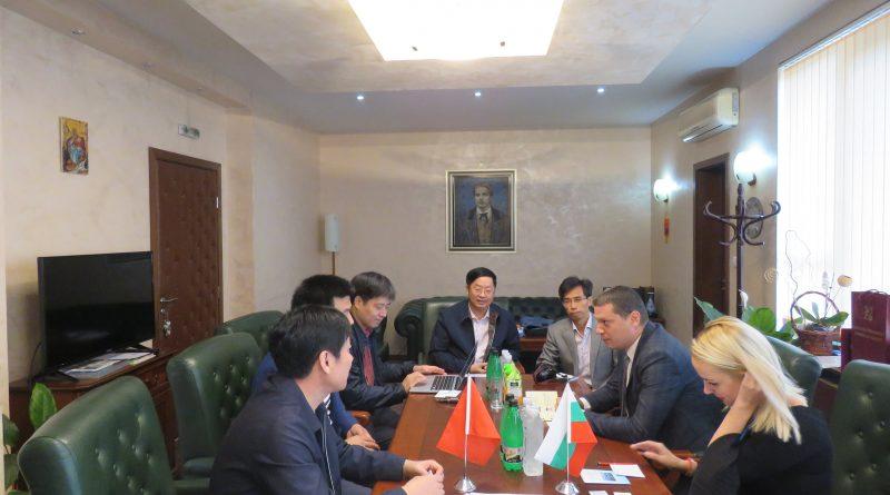 Китайска делегация от провинция Джянси с интерес за внос на български стоки