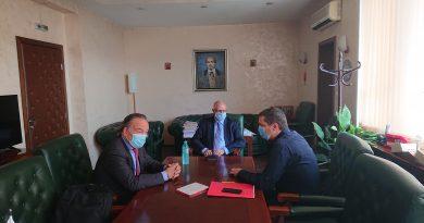 Областният управител Илиан Тодоров предприе стъпки за подпомагане на хранителната индустрия в Софийска област