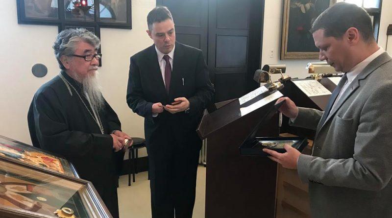 Областният управител Илиан Тодоров и митрополит Шинонага подкрепиха  християнските ценности