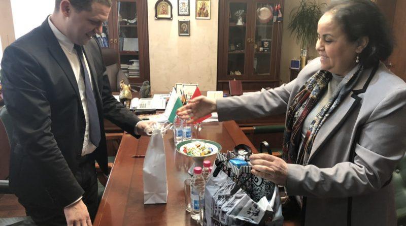 Областният управител Илиан Тодоров се срещна с посланика на Мароко Н.Пр. Закия Ел Мидауи