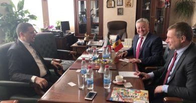 Областният управител Илиан Тодоров се срещна с посланика на Молдова Н.Пр. Штефан Горда