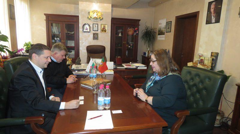 Областният управител Илиан Тодоров се срещна с португалския посланик Н.Пр. Елена Коутиньо