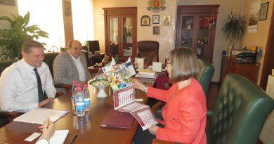 Областният управител Илиан Тодоров се срещна с посланика на Финландия Н.Пр. Пайви Блинникка