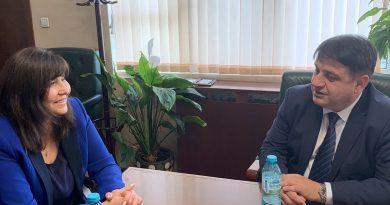 Областният управител на Софийска област Радослав Стойчев се срещна с директора на  областната  РИОСВ и областният управител на София-град
