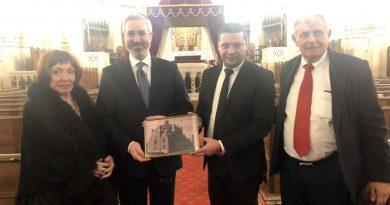 Областният управител Илиан Тодоров:  Да помним историята на Холокоста и да се гордеем със спасяването на българските евреи!
